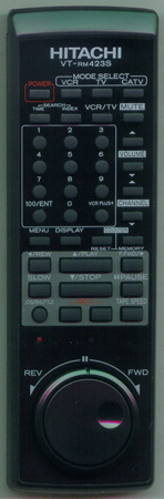 HITACHI UREMT40SR002 VTRM423S Genuine OEM original Remote