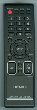 HITACHI 076R0SN011 Genuine  OEM original Remote