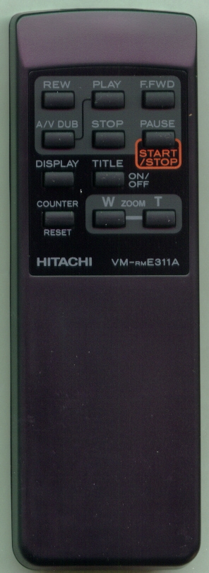 HITACHI HL10771 VM-RME311A Refurbished Genuine OEM Original Remote