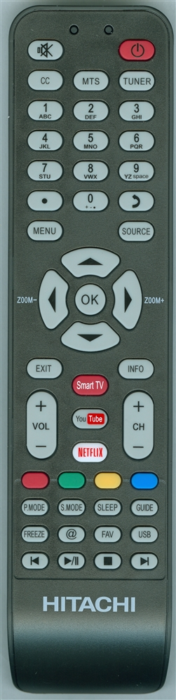 HITACHI X490007 Genuine OEM original Remote