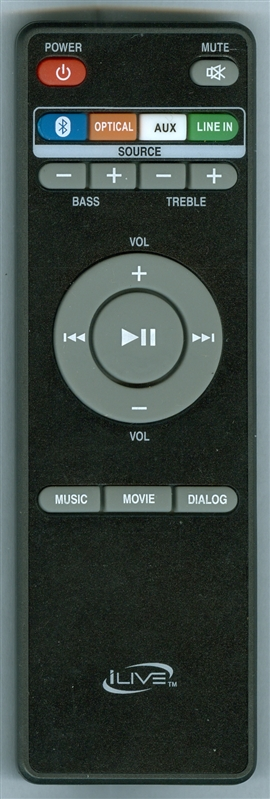 ILIVE REM-ITB295 Genuine OEM original Remote