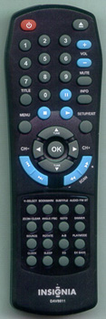 INSIGNIA 0223-458611-00 DAV8611 Genuine OEM original Remote