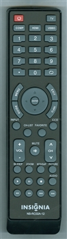 INSIGNIA 098GRABDRNEBYJ NS-RC02A-12 Refurbished Original Remote