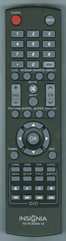 INSIGNIA 240602000509 NS-RC9DNA-14 Genuine OEM original Remote