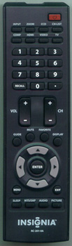 INSIGNIA 6010200101 RC2010A Genuine  OEM original Remote
