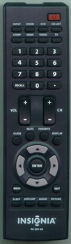 INSIGNIA 6010200101 RC2010A Refurbished Genuine OEM Original Remote