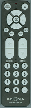 INSIGNIA-NS-RC5NA-14 Genuine  OEM original Remote