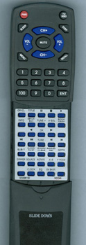 INSIGNIA 0223-458611-00 DAV8611 Custom Built Redi Remote