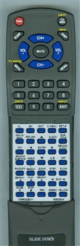 INSIGNIA 076R0QS011 Custom Built Redi Remote