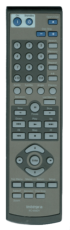 INTEGRA 24140656 RC-656DV Genuine OEM original Remote