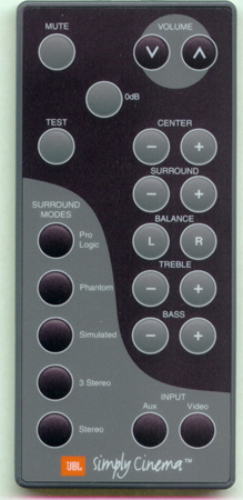JBL WIR0020-431 Genuine  OEM original Remote