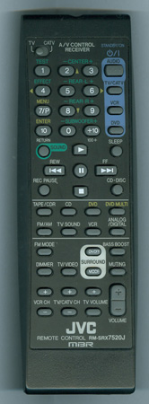 JVC RM-SRX7520J Genuine OEM original Remote