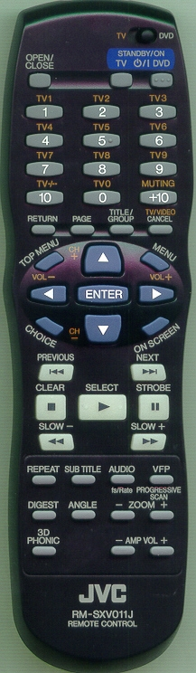 JVC RM-SXV011J Genuine  OEM original Remote