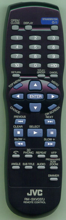 JVC RM-SXV037J Genuine OEM original Remote