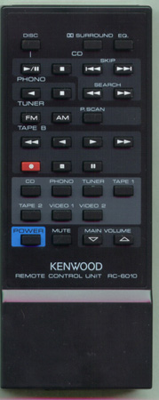 KENWOOD A70-0264-05 RC6010 Genuine  OEM original Remote
