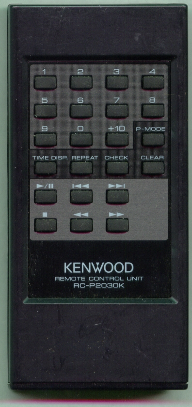 KENWOOD A70-0532-05 RCP2030K Refurbished Genuine OEM Remote