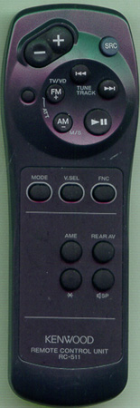 KENWOOD A70-0885-05 RC511 Genuine  OEM original Remote