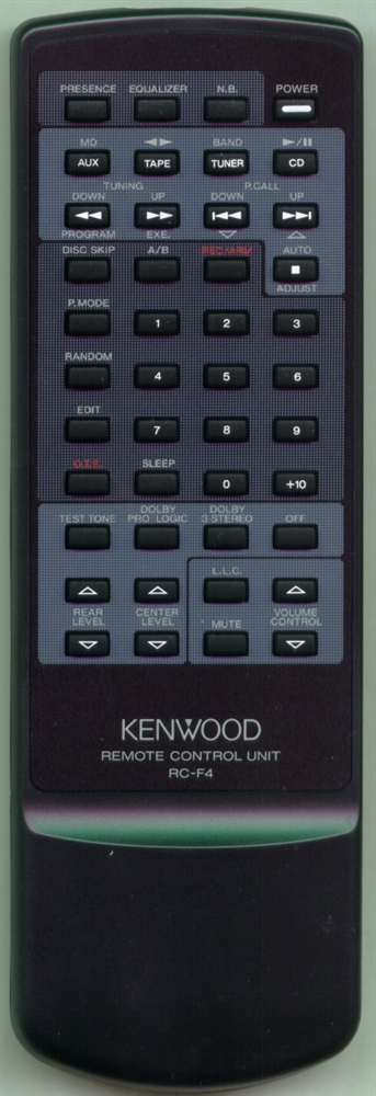 KENWOOD A70-1018-15 RCF4 Refurbished Genuine OEM Original Remote