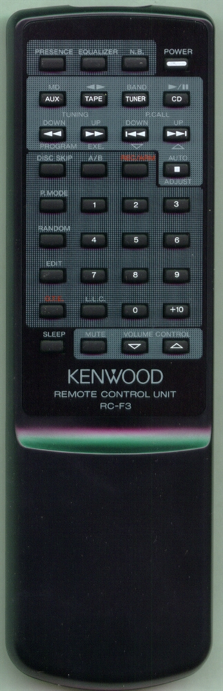 KENWOOD A70-1020-05 RCF3 Refurbished Genuine OEM Original Remote