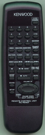 KENWOOD A70-1199-05 RCR0407 Genuine  OEM original Remote