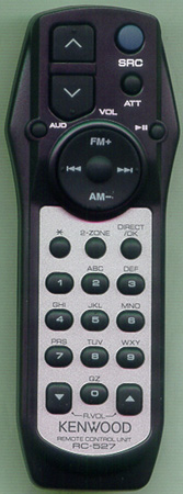 KENWOOD A70-2067-05 RC527 Genuine OEM original Remote