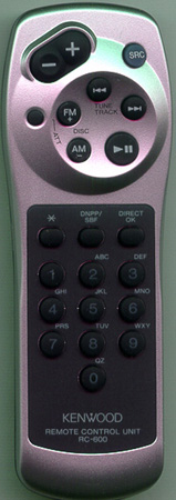KENWOOD KCA-RC600 RC600 Genuine  OEM original Remote