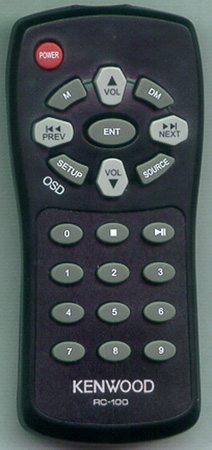 KENWOOD RC-100 RC100 Genuine  OEM original Remote