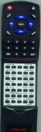 KENWOOD A70-0964-05 RCR0502 Custom Built Redi Remote