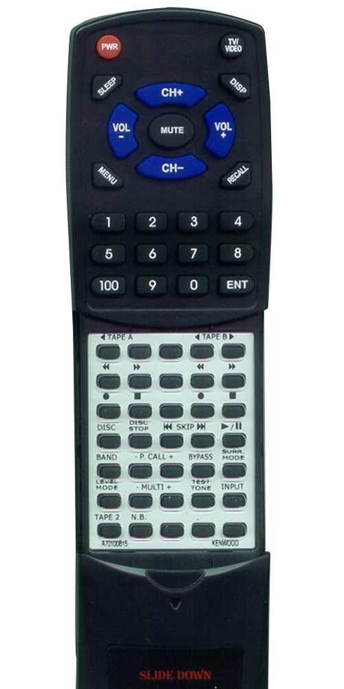 KENWOOD A70-1008-15 RCR0704 Custom Built Redi Remote