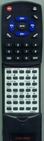 KENWOOD A70-1057-05 RCR0301 Custom Built Redi Remote