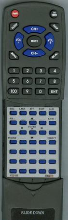 KENWOOD A70-2104-05 RC405 Custom Built Redi Remote