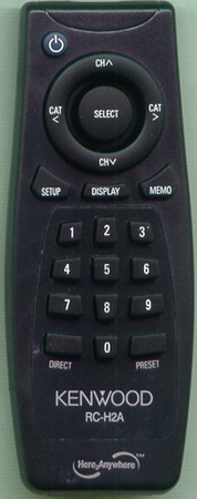 KENWOOD 0111202P00 RC-H2A Genuine OEM original Remote