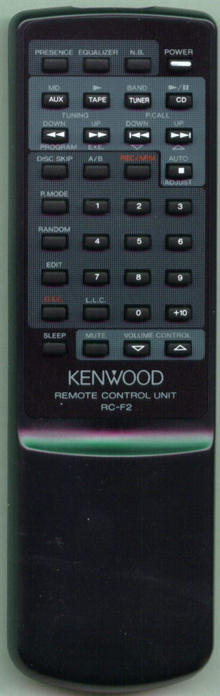 KENWOOD A70-1021-05 RC-F2 Refurbished Genuine OEM Original Remote