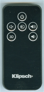 KLIPSCH 1061301 Genuine OEM original Remote