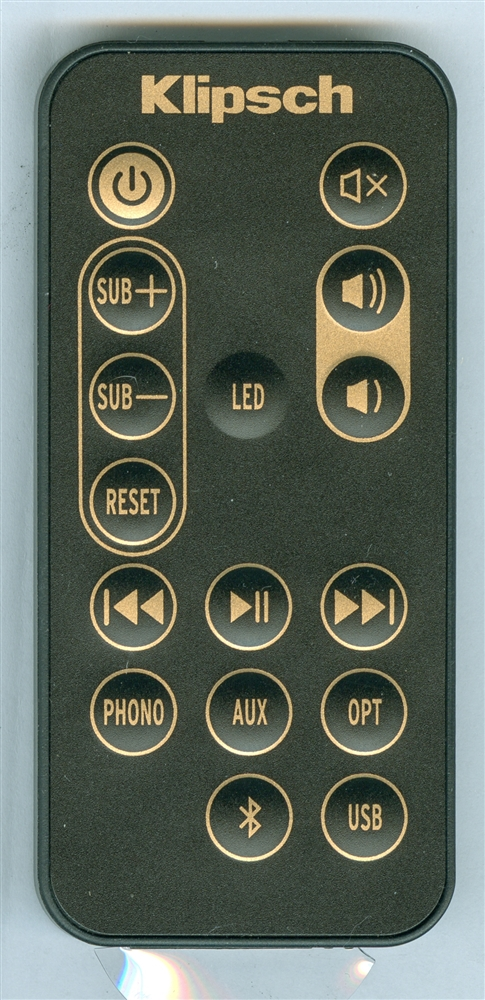 KLIPSCH 1062775 Genuine OEM Original Remote
