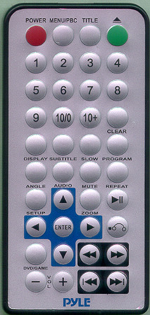 LANZAR SVDVD4 Genuine OEM original Remote