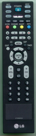 LG 6710900010X Genuine  OEM original Remote