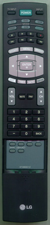 LG 6710900011Z Genuine  OEM original Remote