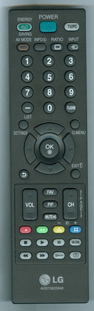 LG AAA74791901 AKB73655848 Genuine OEM original Remote