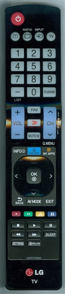 LG AGF76631001 AKB73756506 Genuine  OEM original Remote