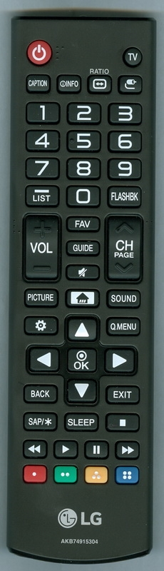 LG AGF76631053 AKB74915304 Genuine OEM original Remote