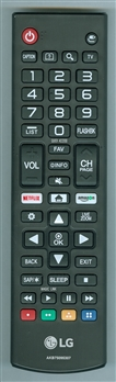 LG AGF76631064 AKB75095307 Genuine OEM original Remote