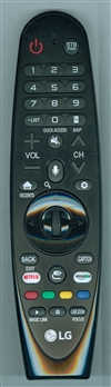 LG AGF78700101 AN-MR650A Genuine OEM Original Remote