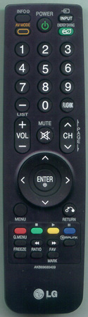 LG AKB69680409 Genuine  OEM original Remote