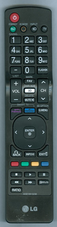 LG AKB72915238 Genuine  OEM original Remote