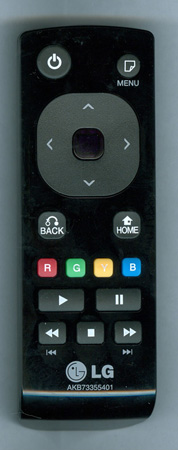 LG AKB73355401 Genuine OEM original Remote