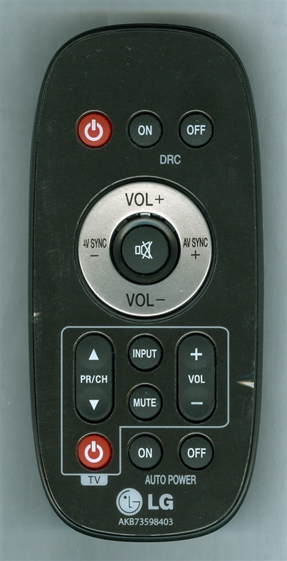 LG AKB73598403 Genuine OEM original Remote