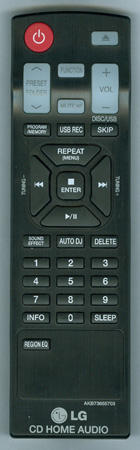 LG AKB73655703 Genuine OEM original Remote