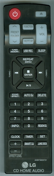 LG AKB73655721 Genuine OEM original Remote