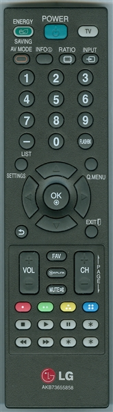 LG AKB73655858 Genuine  OEM original Remote